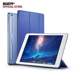 Case for iPad 9.7 2017, ESR PU Leather Front Cover+Soft TPU Bumper Edge+PC Back Auto Sleep Smart case for New iPad 2017 Release