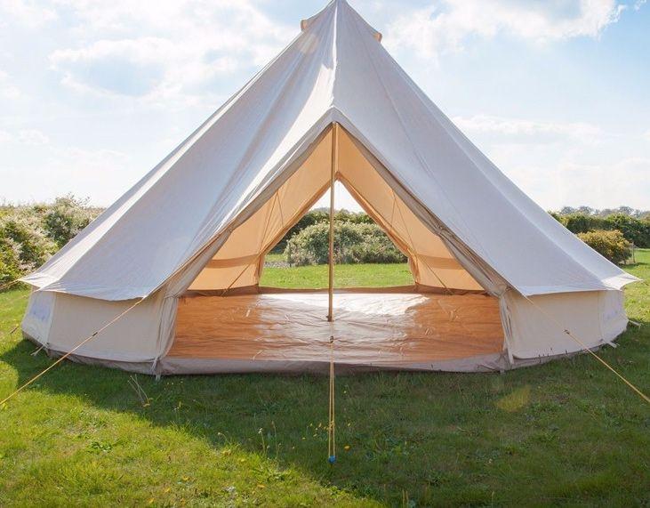 5m double door bell tent