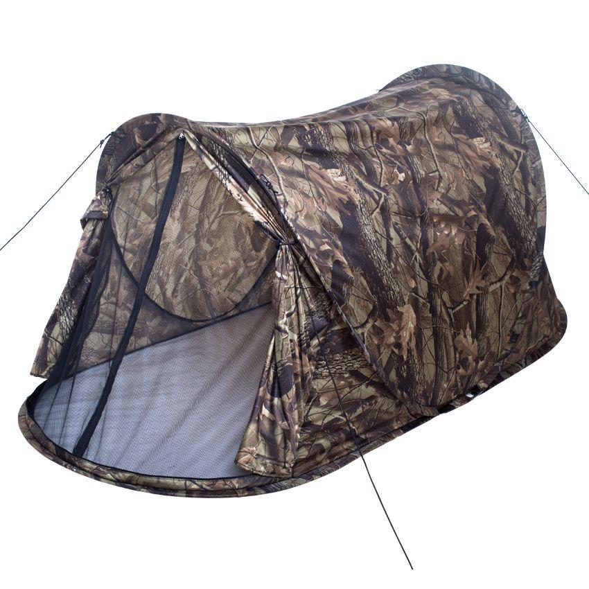 Regarderking Haute Qualité Unique Camouflage pop up 2 deuxième automatique 1-2 personne seule couche ultra-léger tente de camping