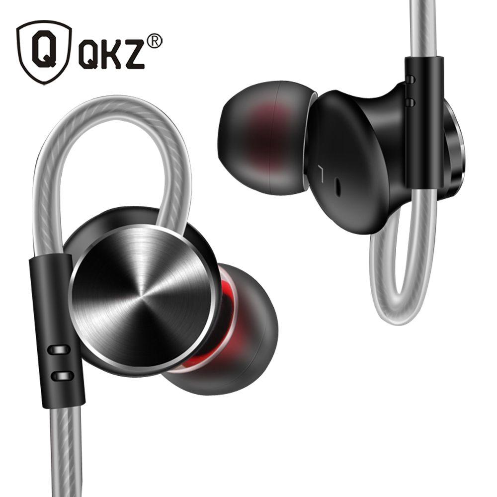 Écouteurs écouteurs QKZ DM10 en alliage de Zinc HiFi écouteurs dans l'oreille écouteurs fone de ouvido métal DJ MP3 casque auriculares audifonos