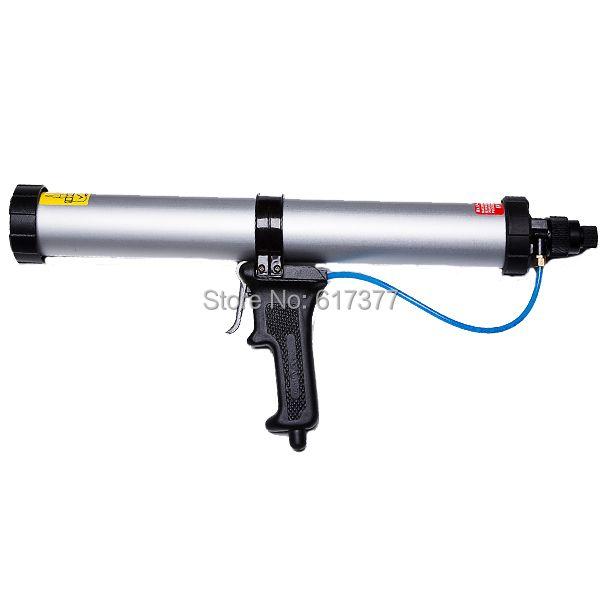 600 ml saucisse mastic pneumatique pistolet à calfeutrer pneumatique pistolet à calfeutrer CE certification pneumatique outil de calfeutrage pneumatique pistolet à silicone