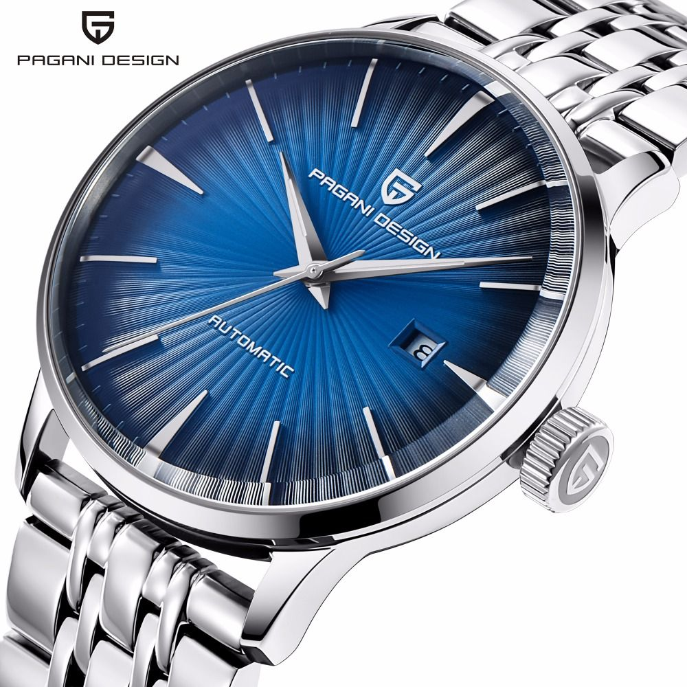 PAGANI Fashion Mechanical Men Watch Waterproof classic Brand Luxury Automatic Business male wrist Watch sport relogio masculino
