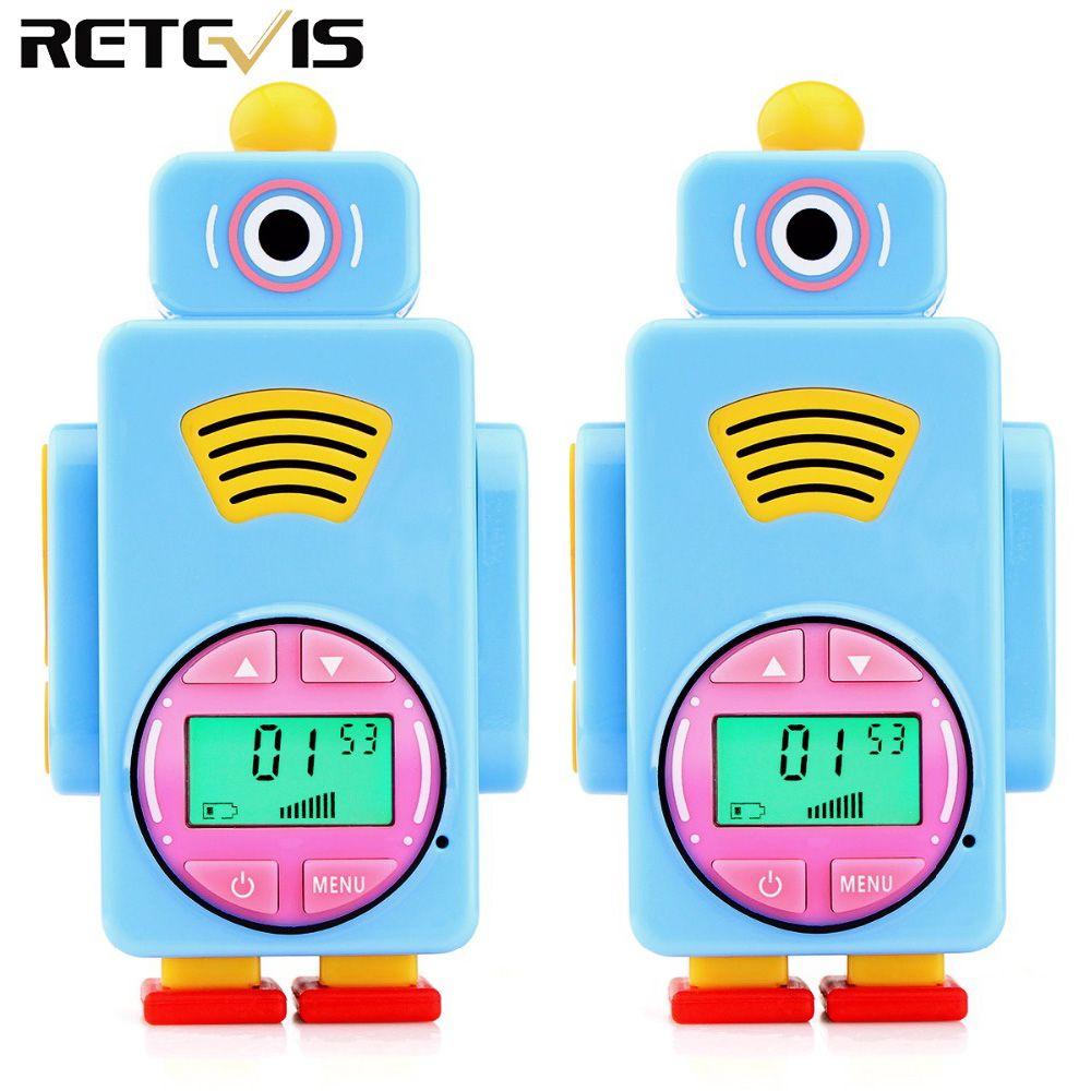 2pcs Retevis RT36 Mini Walkie Talkie Kids Radio License-free 0.5W Rechargeable Two Way Radio Walkie-talkie Children Gift A9125