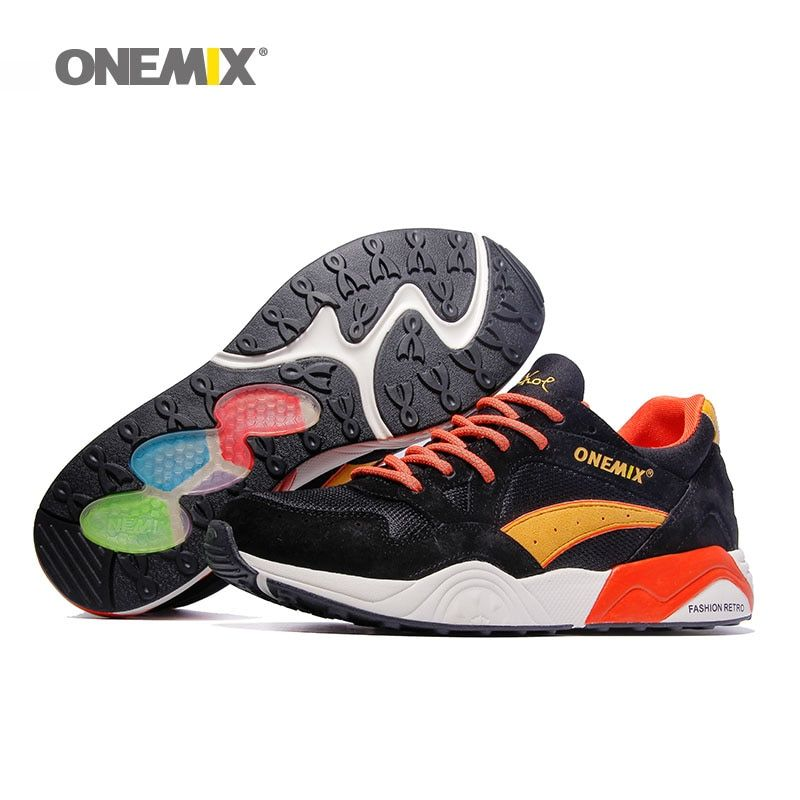 2018 Men Tennis Shoes For Women Retro Classic Athletic Trainers Trail Sports Footwear Black Breathable Outdoor Walking Sneakers