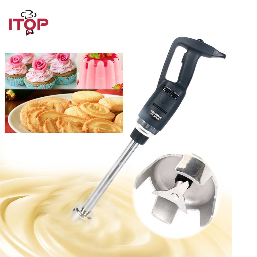 ITOP Heavy Duty Immersion blender professional Commercial kitchen Equipment Handheld fruit Blender Food Mixer