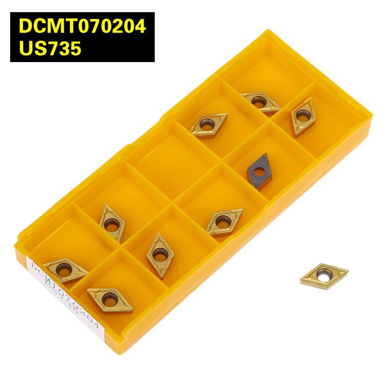 Dcmt070204 UE6020/VP15TF/US735 внутренний поворота Инструменты вставки карбида Резка инструмент ЧПУ Инструменты Токарные станки резак