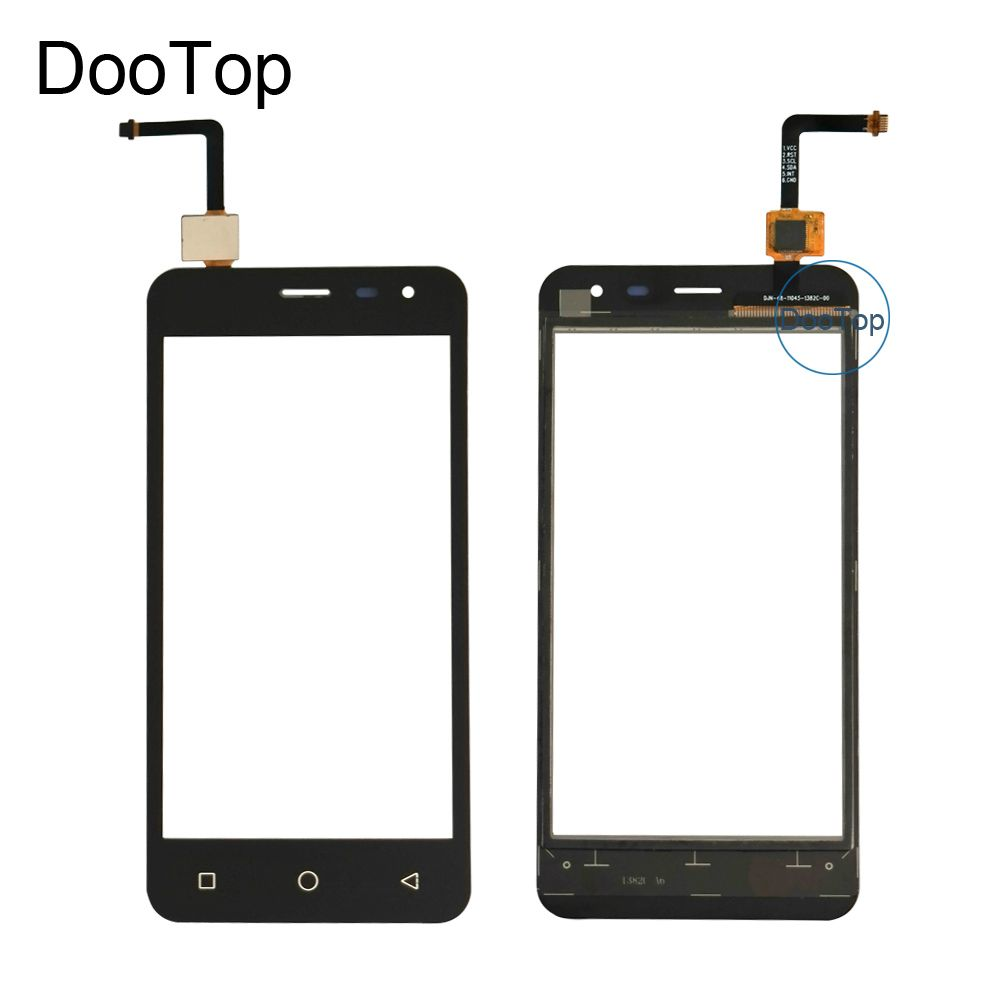 Touch Screen For Micromax Canvas Pace Q415 Sensor Touchscreen Digitizer Front Glass Panel Replacement with free adhesive