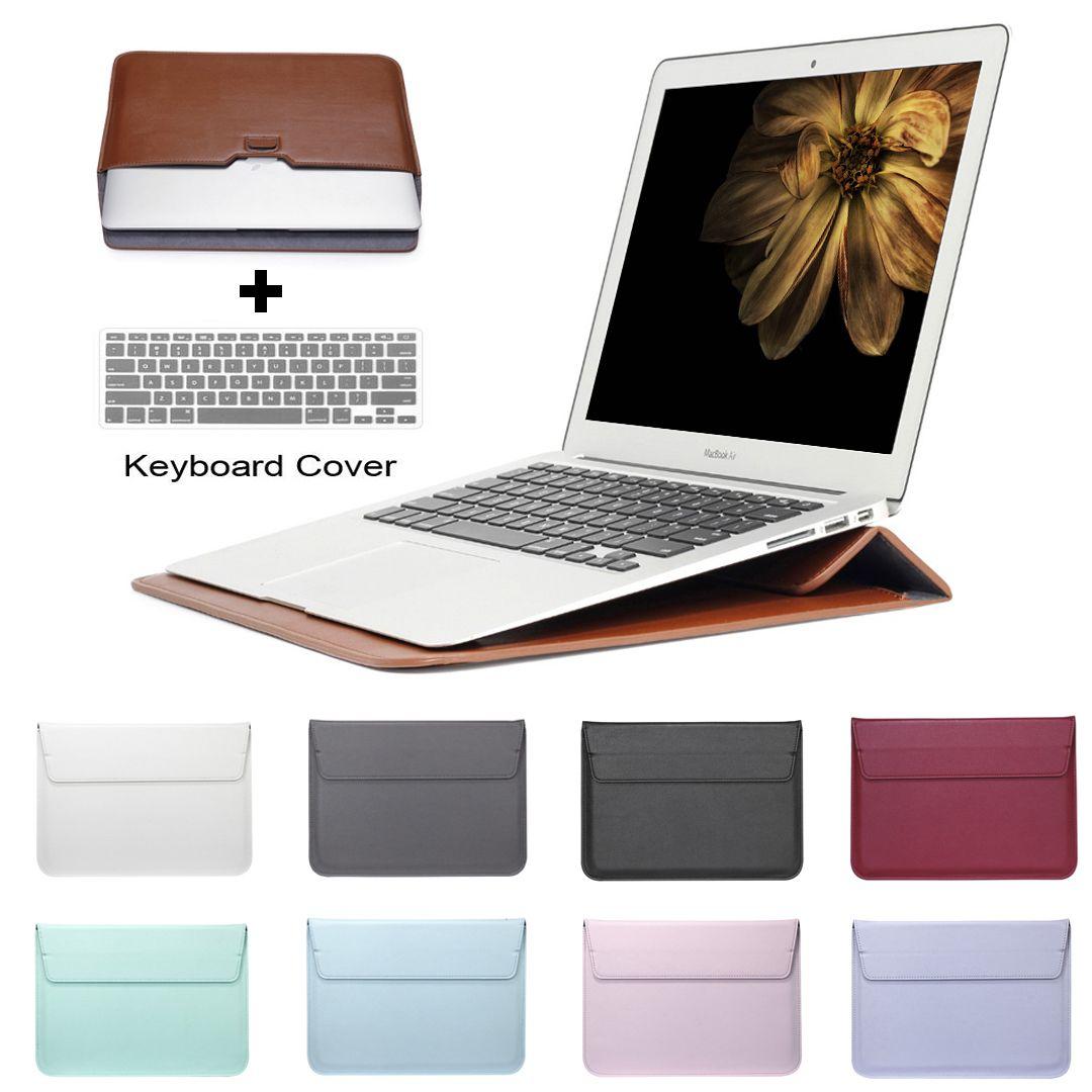Szegypchx cuir courrier sac à manches sac étui pour Macbook Air 13 Pro Retina 11 12 13 15 ordinateur portable housse d'ordinateur portable pour Macbook 13.3 pouces