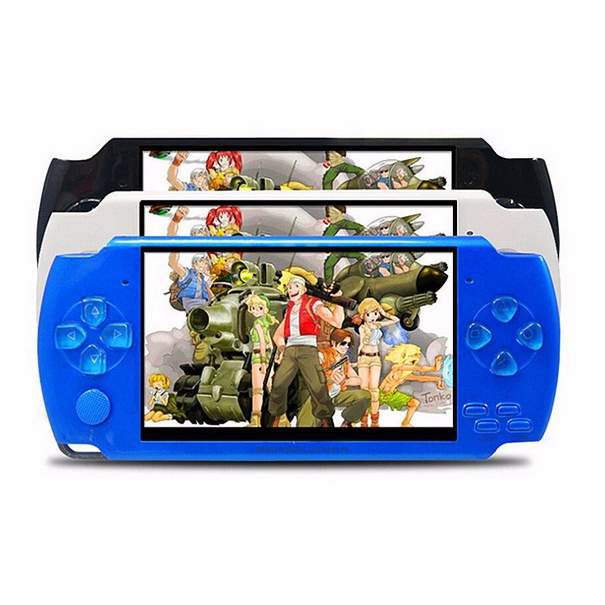 4.3 Inch Screen 32 Bit Handheld Game Players 8G Memory Portable Handheld Game Console Player Built-in 10000+ Retro Games