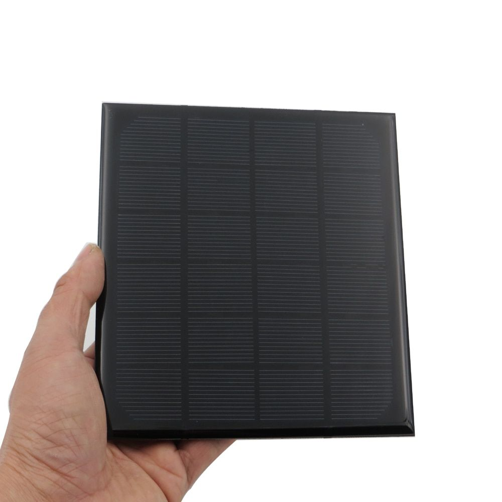 6V 3W Solar Panel Portable Mini Sunpower DIY Module Panel System For Solar Lamp Battery Toys Phone Charger Solar Cells