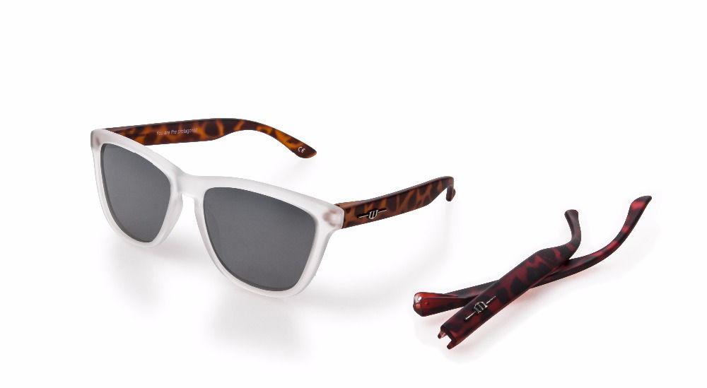 winszenith Fashion UV400 Sliver Lenses Protect Eyes Women Hawksbill Polarized Blocks Both UV