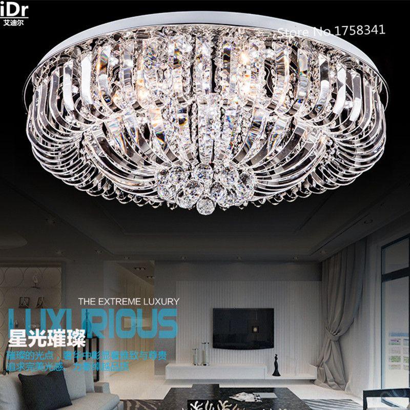 Schlafzimmer moderne led-kristalldeckenleuchten wohnzimmer lampe schlafzimmer lampe beleuchtung Schlafzimmer lampe Halle Luxus lampe Dia800xW280mm