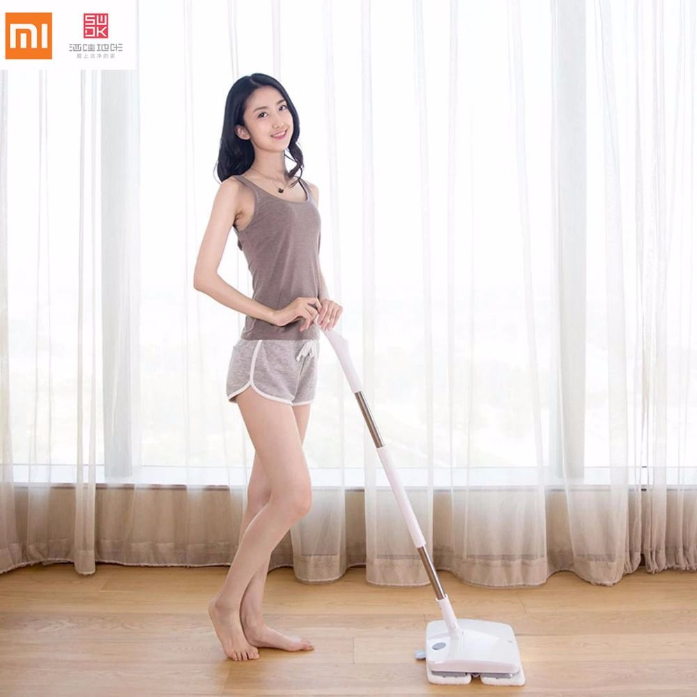 Xiaomi SWDK-D260 Wireless Handheld Electric Mop Wiper Floor Washers With Light and Built-in 2000mAh Battery With Mops DC 12V