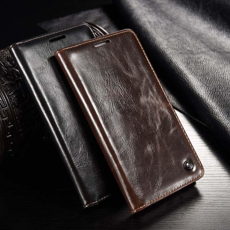 Original CaseMe marque étui en cuir aimant Flip housse de téléphone en cuir pour Samsung Galaxy 2015 A3 A5 A7 2016 A310 A510 JS0656