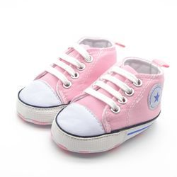 Summer Casual Baby Shoes Infant Cotton Fabric Canvas First Walker Soft Sole Shoes Girl Boys Footwear 6 colors
