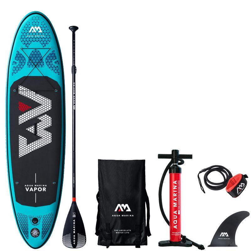 2019 surfbrett 300*76*12 cm sup pad AQUA MARINA DAMPF aufblasbare SUP stand up paddle board angeln kajak aufblasbare leine sitz