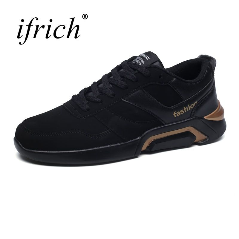 2017 New Running Shoes Men Autumn Winter Running Trainers Lace Up Male Sport Sneakers Black Red Mens Runners Wearable Footwear