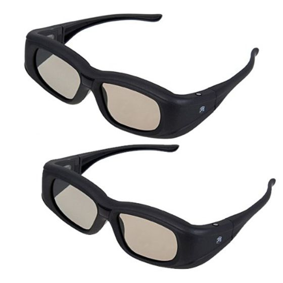 HFES New New Super Universal 3D Active Shutter Glasses IR&Bluetooth For Panasonic/Sony/Sharp/Samsung/LG/Toshiba 3DTV (2 Packs)