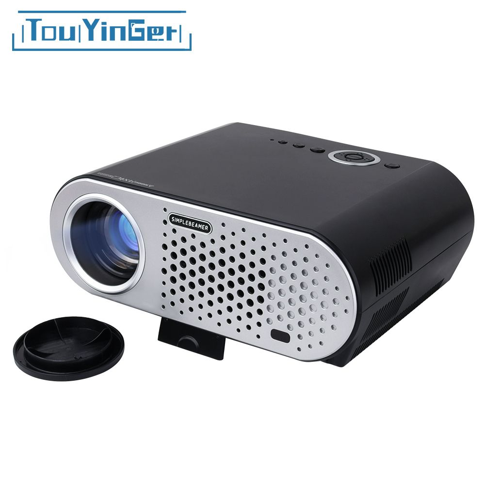 HD projector GP90 ( Android wifi Optional ) 3200 Lumens 1280*768 LCD Projector for Home Theater Meeting HDMI/VGA/USB/AV Beamer