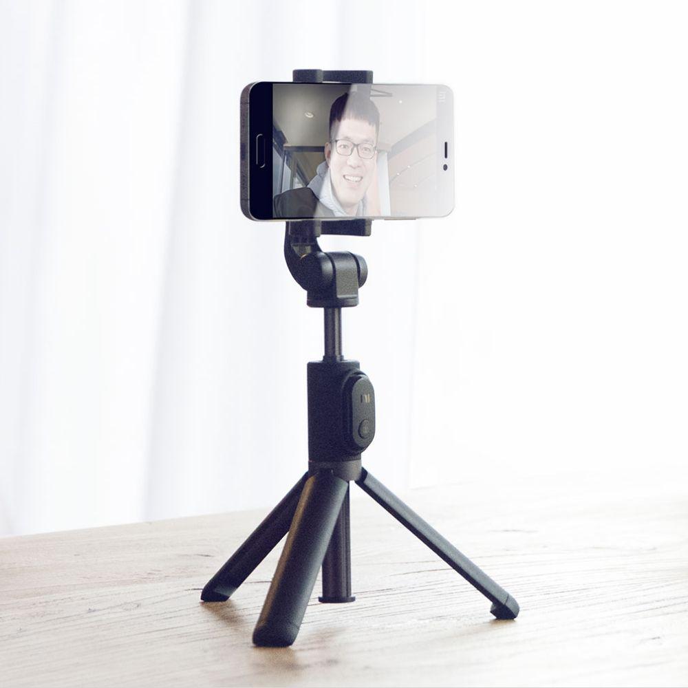 Заводская цена Xiaomi ручной мини-штатив 3 в 1 Автопортрет монопод телефон Selfie Stick Bluetooth Беспроводной пульт дистанционного спуска затвора