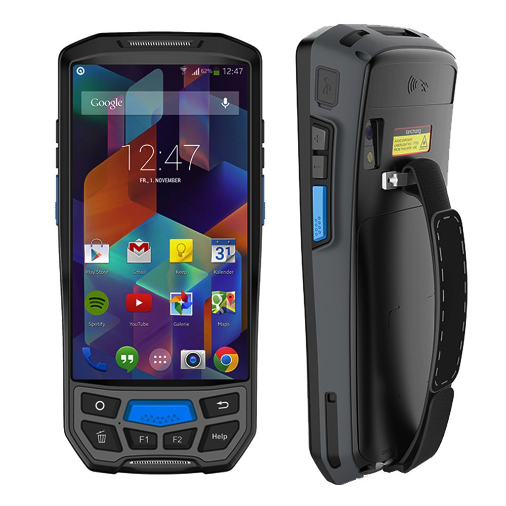 IssyzonePOS Android 7.0 Handheld PDA Drahtlose WIFI Bluetooth 1D 2D QR Barcod Scanner GPS NFC UHF RFID Handheld POS-Terminal