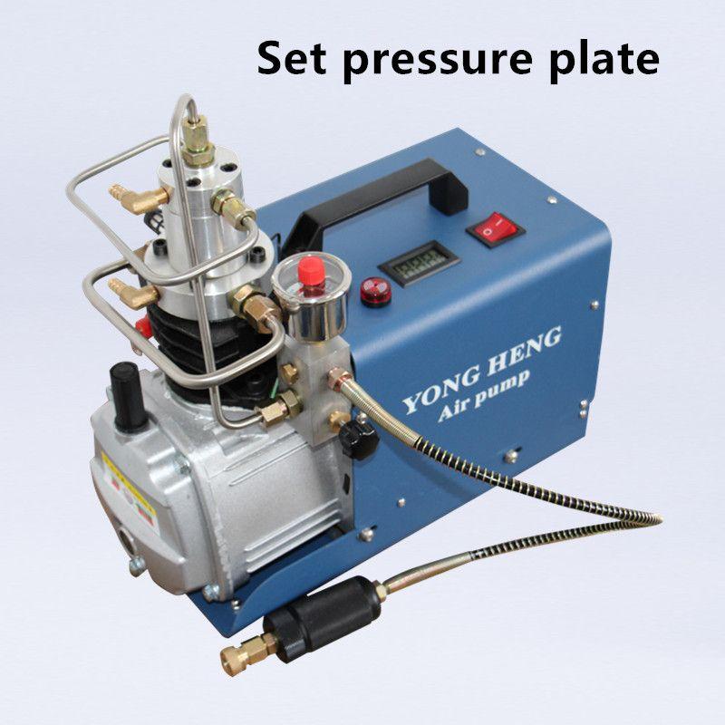 300BAR MPA 4500PSI Hochdruck-luftpumpe Elektrische Luftkompressor für Pneumatische Luftgewehr Scuba Gewehr PCP Inflator 220 v 110 v