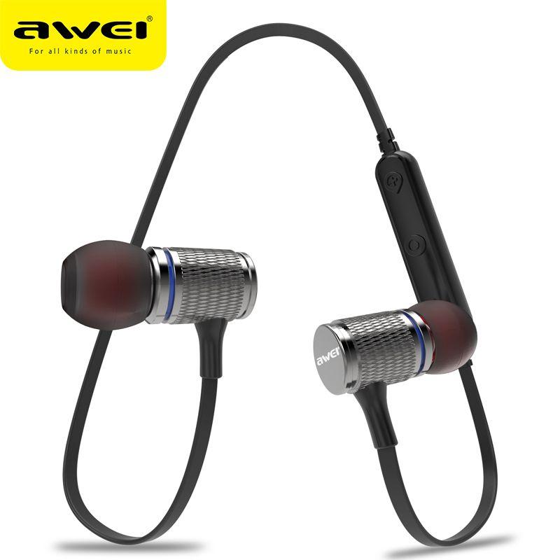 AWEI Neueste T12 Drahtlose Kopfhörer Bluetooth Kopfhörer Ohrhörer Für Telefon Casque kulakl k Schnurlose Bluetooth V4.2 Fone de ouvido