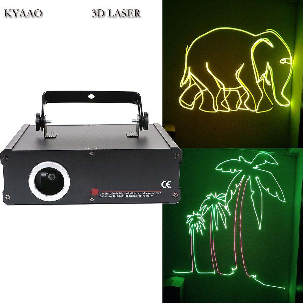 DJ laser SD card 500mW RGB full color laser show system disco Stage Laser lighting