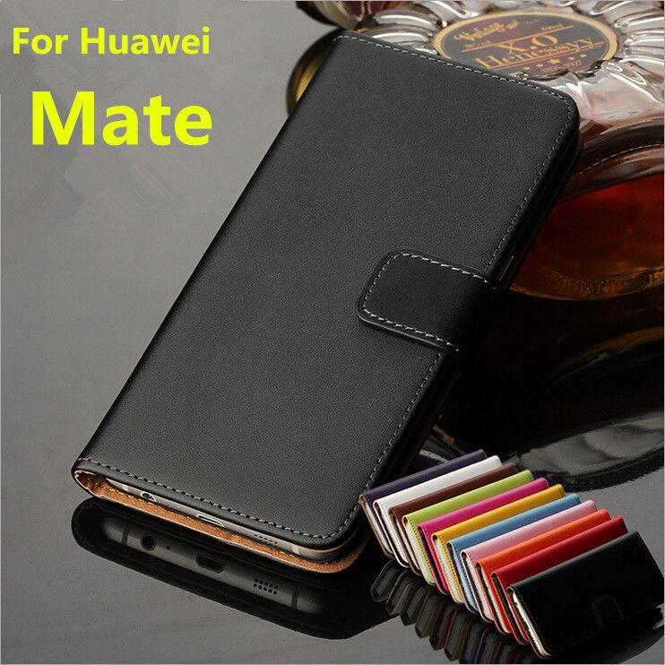 Huawei mate cover case Premium PU Leather Wallet Flip Case for Huawei Ascend Mate with Card Slots and Cash Holder GG