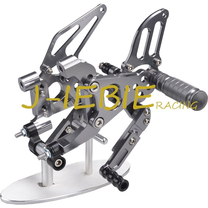 CNC Racing Rearset Adjustable Rear Sets Foot pegs Fit For Ducati 899 959 1199 1299 Panigale 2012 2013 2014 2015 2016 TITAINUM
