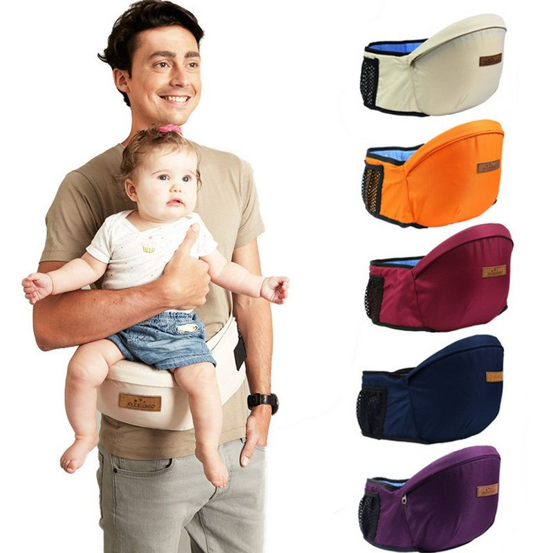 Kangaroo Baby <font><b>Carrier</b></font> Waist Stool Walkers Baby Sling Hold Waist Belt Backpack Hipseat Belt Kids Infant Hip Seat Toddler Children