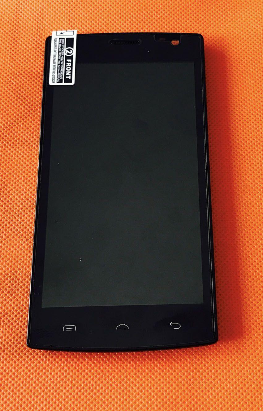 Verwendet Original LCD Display + Digitizer Touch Screen + Rahmen für Blackview Breeze V2 4,5 zoll Freies verschiffen