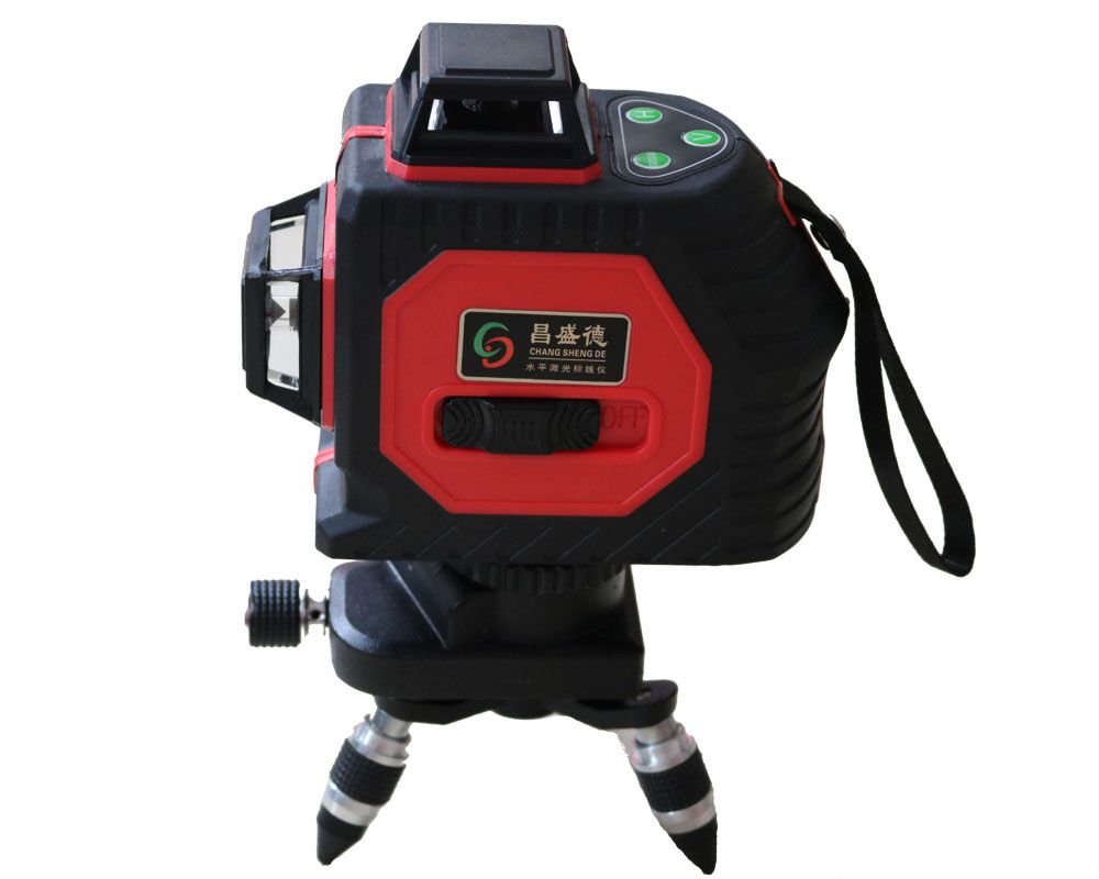 2018 New 12Lines 3D Laser Level Self-Leveling 360 Horizontal And Vertical Cross Super Powerful Red Laser Beam Line