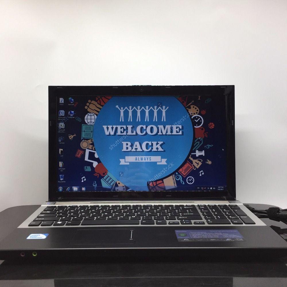 Windows 7/8 системы 15.6 дюймов ноутбук Intel Celeron J1900 2.0 ГГц 4 г ОЗУ 128 г SSD в камеру с DVD-RW Отправить мышь