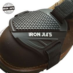 IRON JIA'S Motorcycle Shoes Protective Motocross Shift Pad Men Boots Shoe Protection Gear Riding Racing Brake Cover