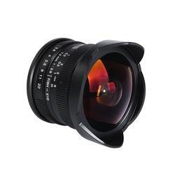 Viltrox 7,5mm F/2,8 Cámara Fisheye lente 180 grados Multi-recubierto para Sony E montaje A6500 A7 II/M4/3 GH4 GH5/Fuji X-T2/Canon M10