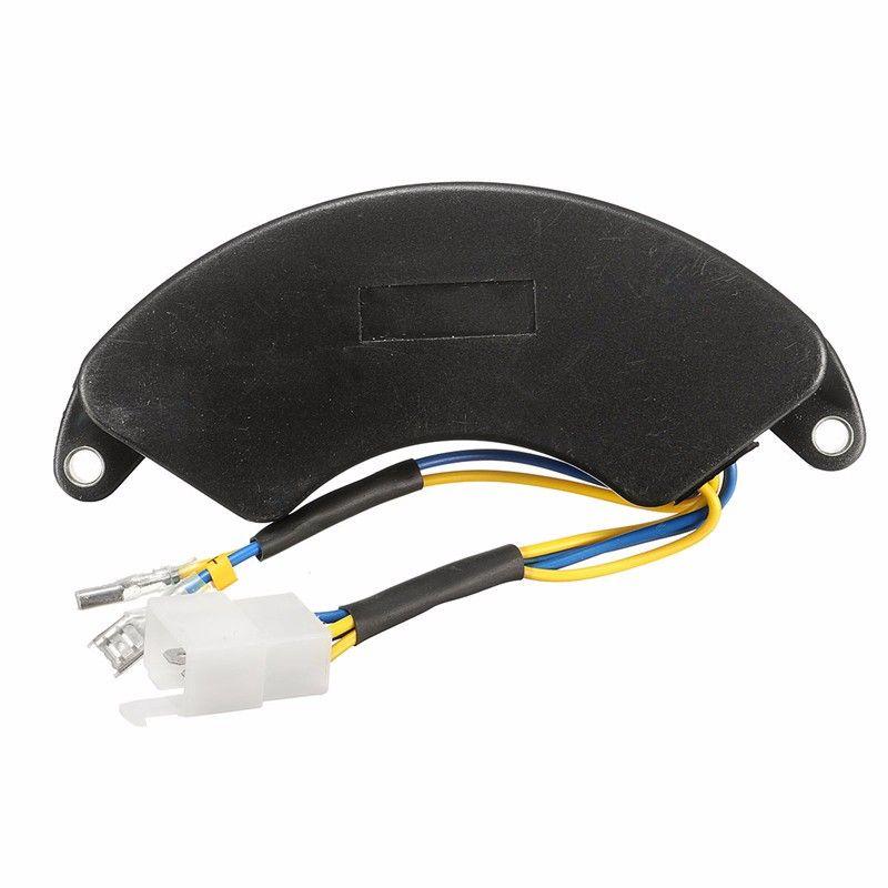 5000 Вт Генератор AVR Автоматический Напряжение регулятор 5kw генератор avr 250 В AC 470 мкФ однофазный всего 6 провода благоприятные