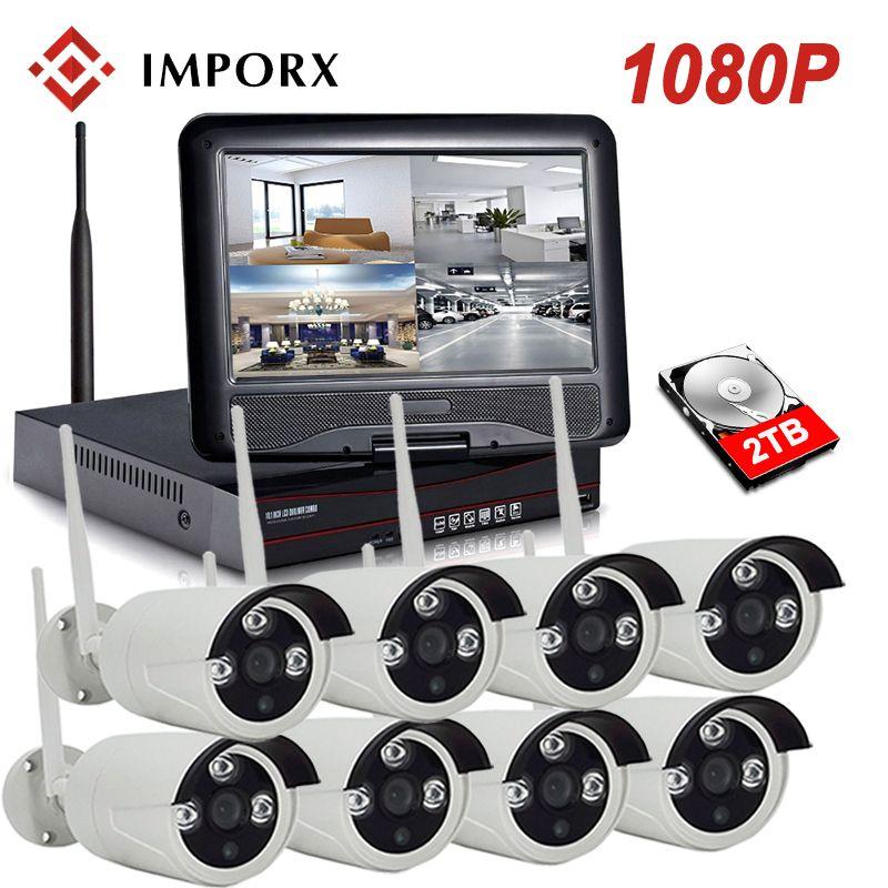 1080P 8CH Wireless NVR Kit 10
