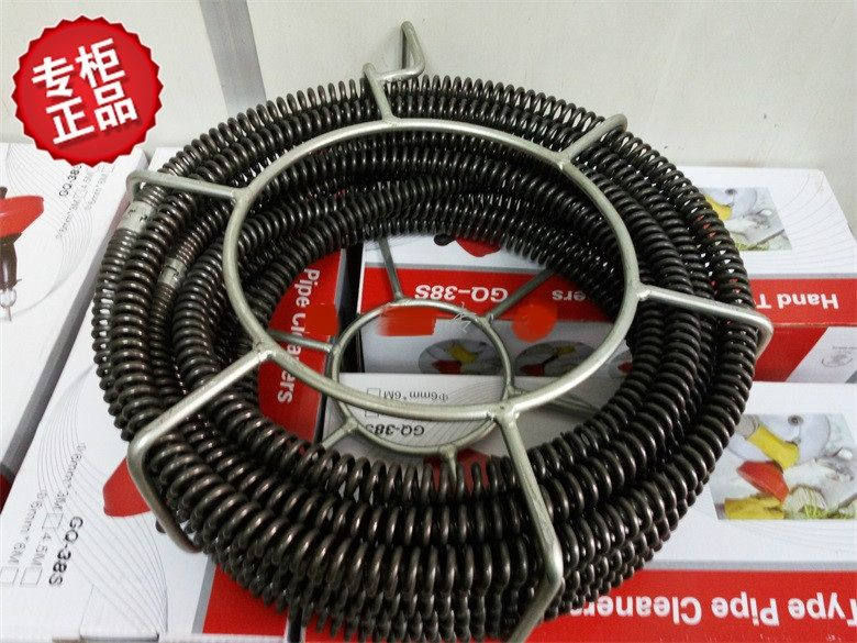 Soft Shaft Sewer Snake Machine Accessories Soft Shaft 16mm(16mmx2.5m 7pcs &15mmx2.5m 1pcs) 20meters