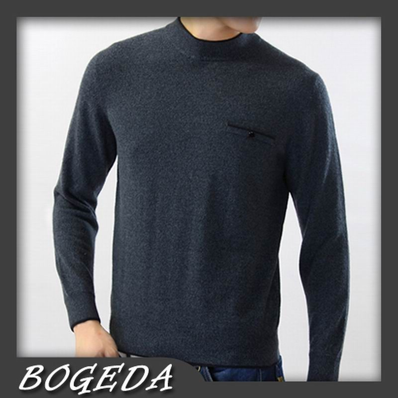 Pure Cashmere Sweater For Men Winter Pullover Solid Dark Gray Casual High Quality Natural fabric Free shipping Stock Clearance