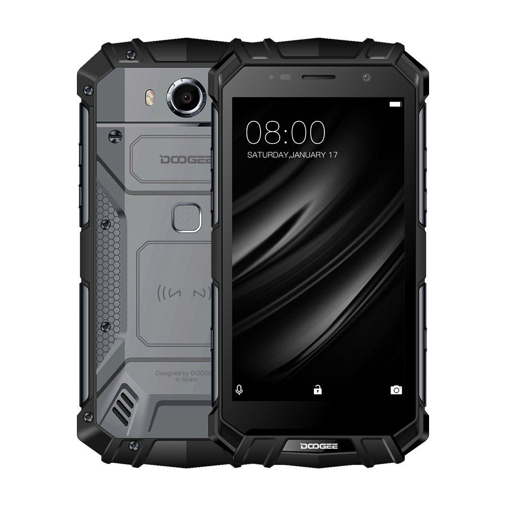 Echt IP68 DOOGEE S60 Drahtlose Lade 5580 mAh 12V2A Schnellladung 5,2 ''FHD Helio P25 Octa-core 6 GB 64 GB Smartphone 21.0MP kamera