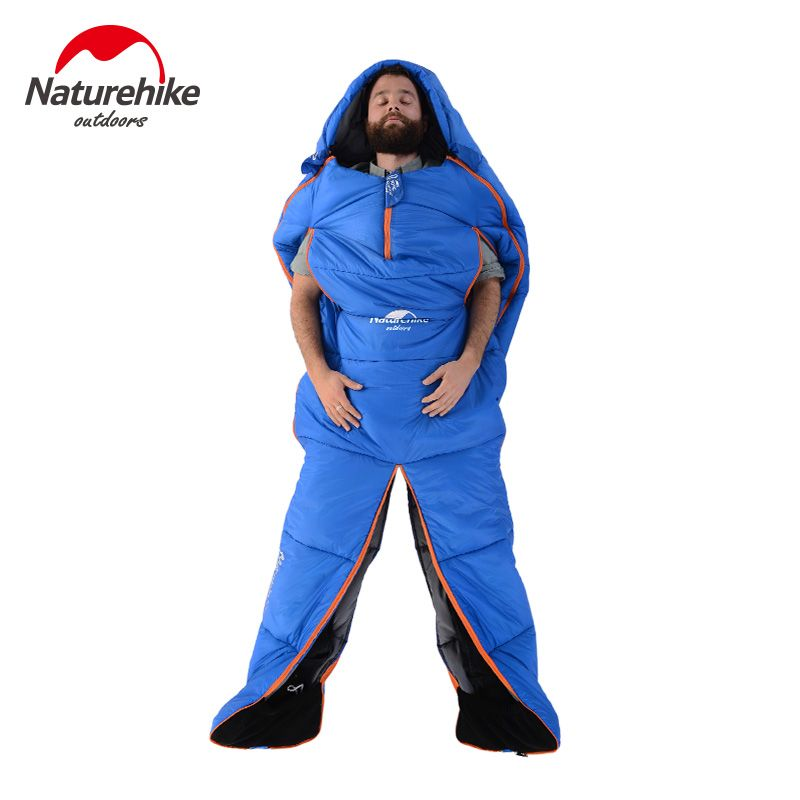Naturehike factory People shape Sleeping Bag Two Specificaitons Adult Super light warm sleeping bag 2017 popular Product