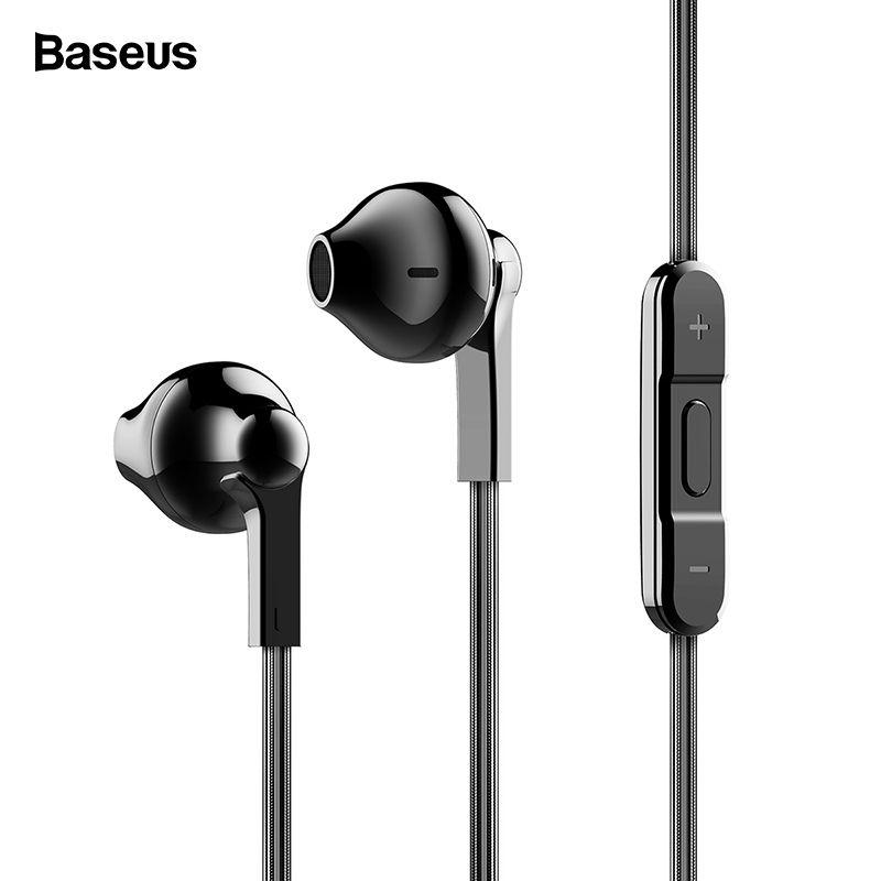 Baseus H03 In-ohr Verdrahtete Kopfhörer Überzug Headset Für Telefon Fone De Ouvido Kulakl K Jack 3,5mm Stereo Ohrhörer Ohrhörer mit Mic