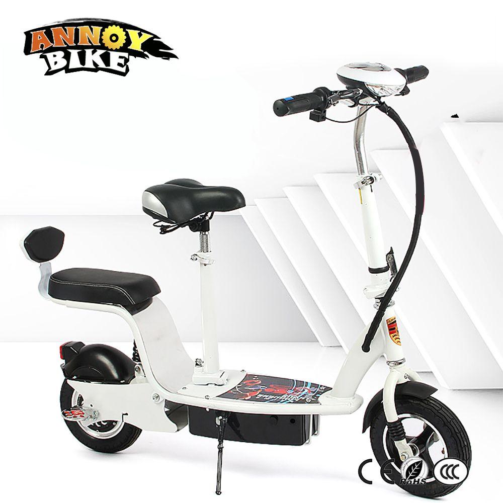 Folding Elektro-fahrrad 24 v 36 v 48 v 350 watt Erwachsene Stoßdämpfer Sitz Ebike Motorrad Roller Lithium-Batterie