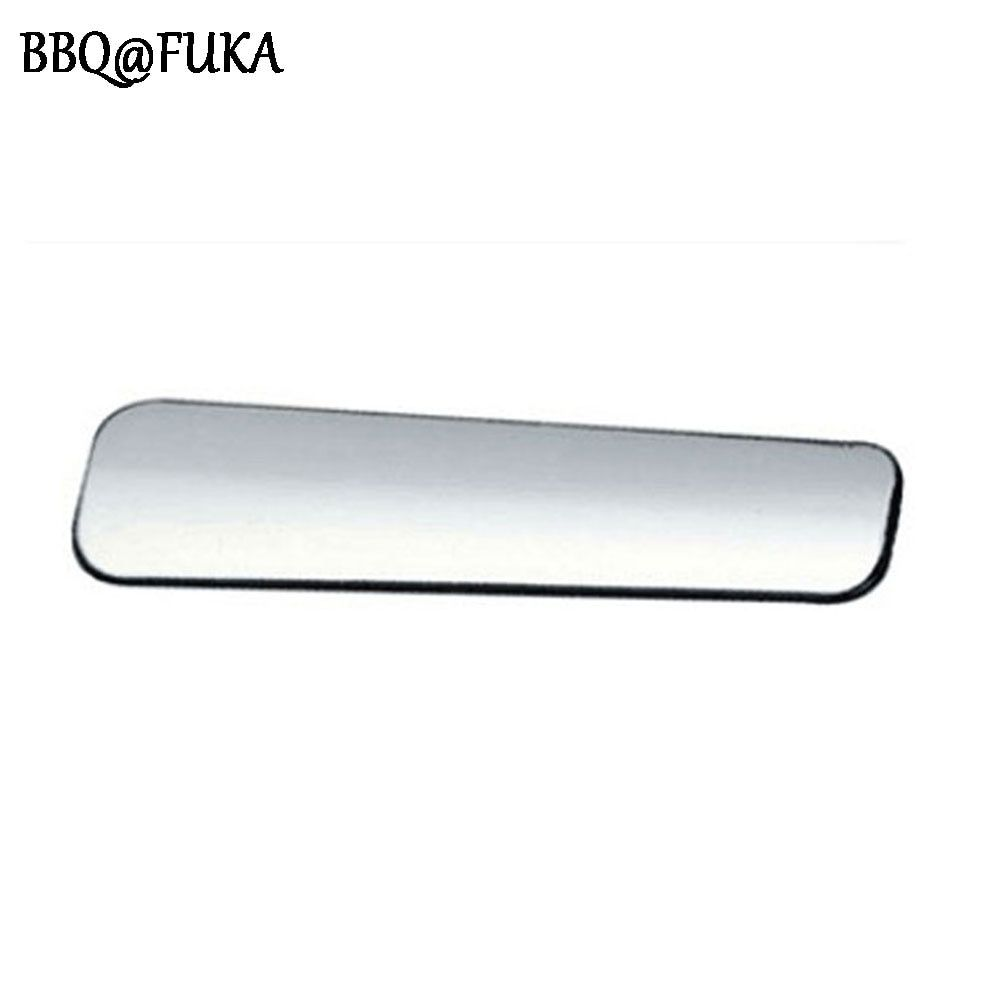BBQ@FUKA Car Interior Chrome Parking Hand Brake Handle Cover ABS Trim Sequined Decoration Fit For ix25 2015 Car-Styling Covers