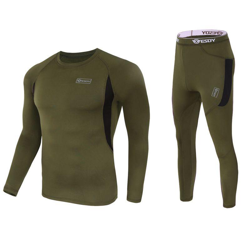 Haut d'hiver qualité nouveau sous-vêtement thermique hommes ensemble de sous-vêtements compression polaire sueur séchage rapide thermo sous-vêtements hommes vêtements