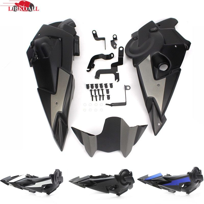 LJBKOALL ABS Plastic Bellypan Engine Spoiler Fairing with Mounting Kits for Yamaha FZ-07 MT-07 FZ07 MT07 2014 2015 2016 2017