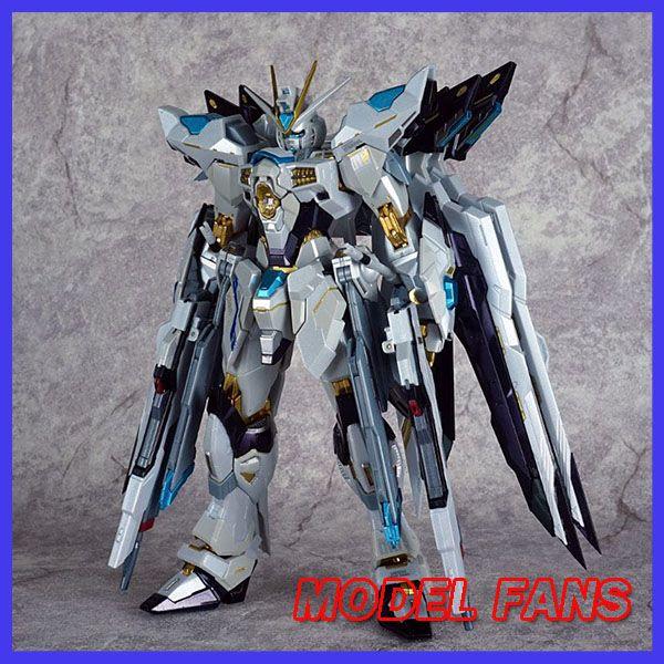 MODELL FANS AUF LAGER metalclub metalgear metall bauen MB Gundam strike freiheit weiße farbe high quality action figure