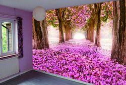 T-8952 модные украшения материал со светодио дный ленты дерево печати стрейч потолок плёнки