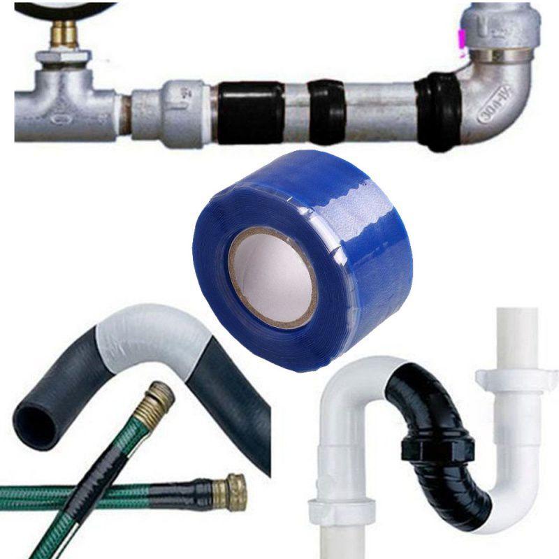Waterproof Silicone Performance Repair Tape Hot Sale Bonding Rescue Self Fusing Wire Hose Black Transparent Film Tape